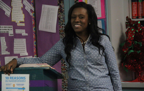 Sharp giving back what mentor gave her